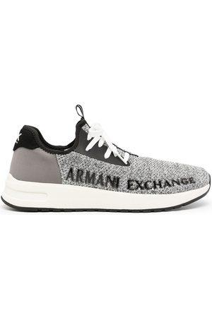 Armani Logo sock-style sneakers