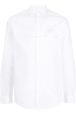 Armani Chest logo-print shirt