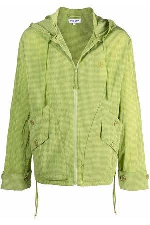 Kenzo Hooded zip-up lightweight jacket