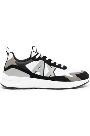 Armani Side logo-print sneakers