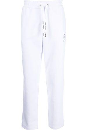 Armani Logo-print detail track pants