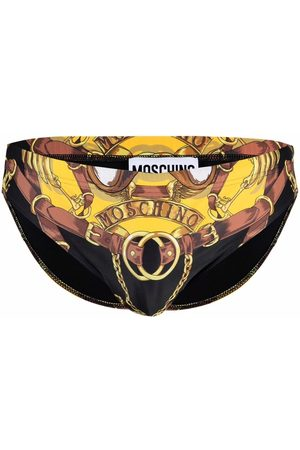 Moschino Bear-motif swimming trunks
