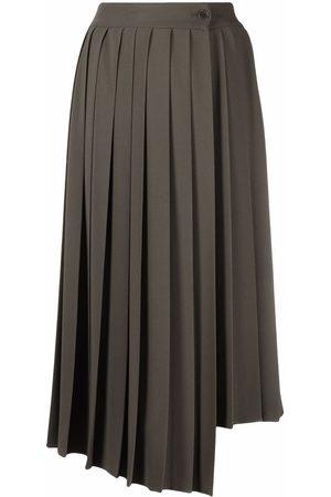 P.a.r.o.s.h. Women Pleated Skirts - Asymmetric pleated skirt