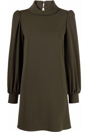 P.a.r.o.s.h. Long-sleeve mini shift dress