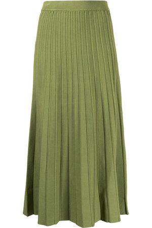JONATHAN SIMKHAI Women Pleated Skirts - High-waisted pleated skirt