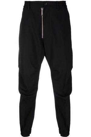 Dsquared2 Front-zip straight-leg trousers