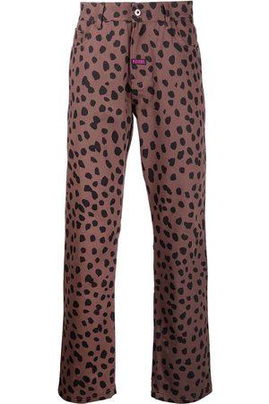 Pleasures Animal-print denim jeans