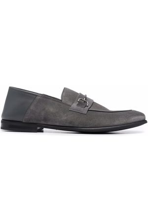 Dunhill Horsebit-detail loafers - Grey