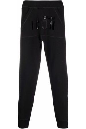 Dsquared2 Men Sweatpants - Logo-print cotton track pants