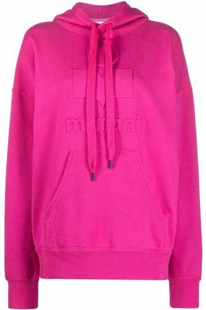 Isabel Marant Men Hoodies - Mansel drawstring pullover hoodie