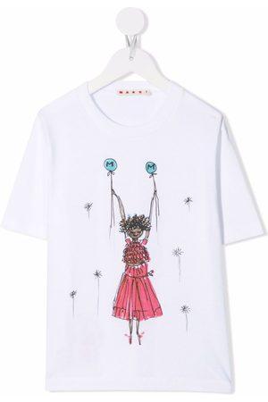 Marni Girls T-shirts - Graphic-print T-shirt