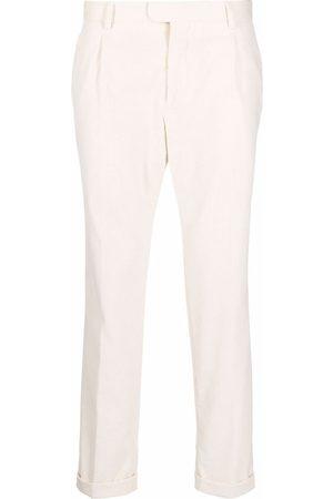 Z Zegna Corduroy slim-fit trousers - Neutrals