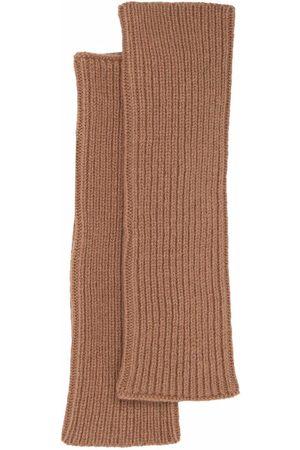 MA'RY'YA Men Gloves - Knitted-wool arm warmers