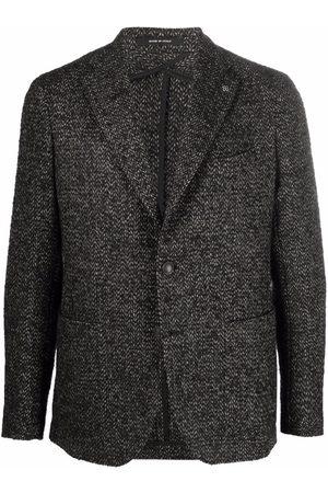 TAGLIATORE Single-breasted tailored blazer