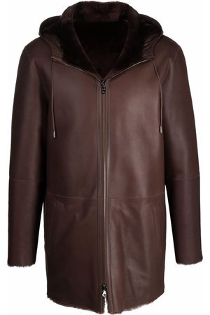 DESA Men Coats - Reversible shearling leather coat