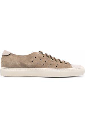 Buttero Men Sneakers - Low-top suede sneakers - Grey