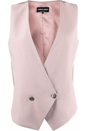 Armani Double-breasted tailored waistcoat