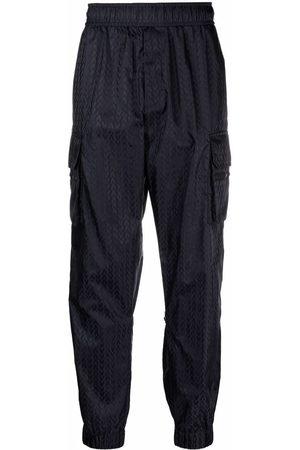 VALENTINO Optical -print cargo trousers