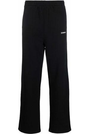 Vetements Men Sweatpants - Straight-leg track pants