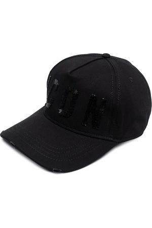 Dsquared2 Women Caps - Embroidered logo baseball cap