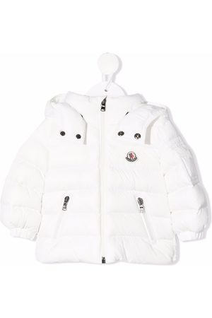 Moncler Puffer Jackets - Hooded zip-up padded jacket