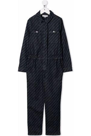 Givenchy Girls Jumpsuits - Chaîne logo-print boiler suit