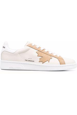 Dsquared2 Men Sneakers - Maple leaf low-top sneakers
