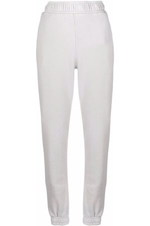 Cotton Citizen Women Sweatpants - Elasticated-waist cotton trousers - Grey