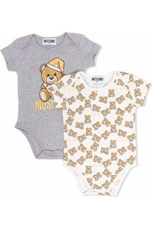Moschino Teddy bear body set - Grey