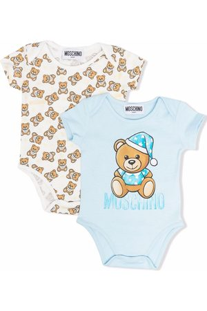 Moschino Teddy bear-motif cotton body