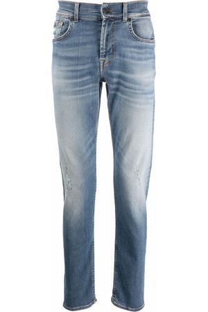 7 for all Mankind Men Straight - Mid-rise straight jeans