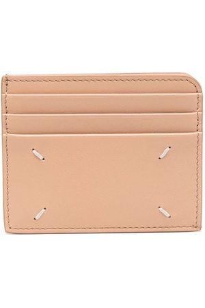 Maison Margiela Four-stitch compact cardholder - Neutrals