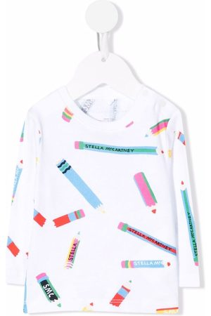 Stella McCartney Pencil-print T-shirt
