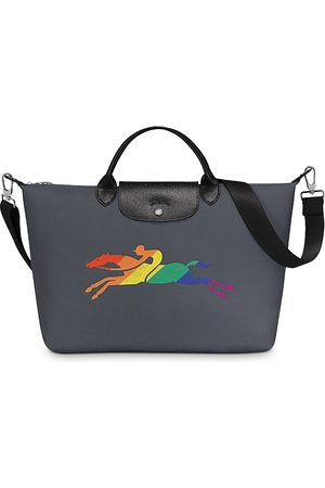 Longchamp Rainbow Logo Handbag