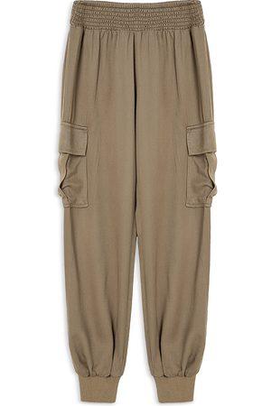 HABITUAL Girls Cargo Pants - Girls' Pull On Cargo Pants - Big Kid