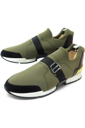 Hermès Run cloth trainers