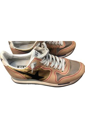 Golden Goose Running cloth trainers