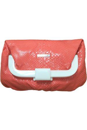 LE SILLA Exotic leathers clutch bag