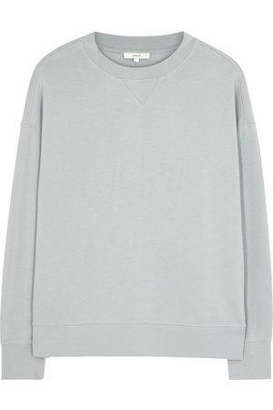 Vince Essential grey cotton sweatshirt