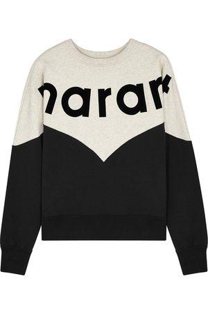 Isabel Marant Houston logo cotton-blend sweatshirt