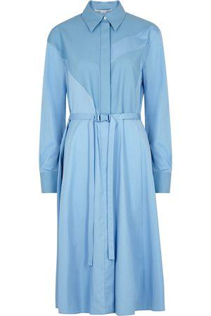 Stella McCartney Women Midi Dresses - Mia panelled cotton midi dress