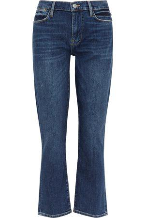 Frame Le High Straight dark jeans