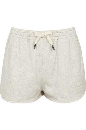 Isabel Marant Mifikia ecru cotton-blend shorts