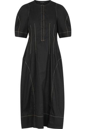 Lee Mathews Nerissa cotton midi dress