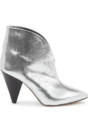 Isabel Marant Women Ankle Boots - Adiel 100 leather ankle boots