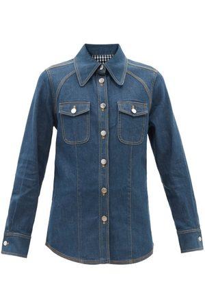Lee Mathews Women Denim Jackets - Denim Shirt Jacket - Womens - Denim