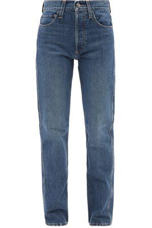 CO Women High Waisted - High-rise Straight-leg Jeans - Womens