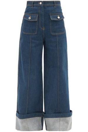 Lee Mathews High-rise Flared-leg Jeans - Womens - Denim