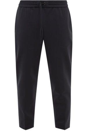 Moncler Cropped Jersey Slim-leg Track Pants - Mens