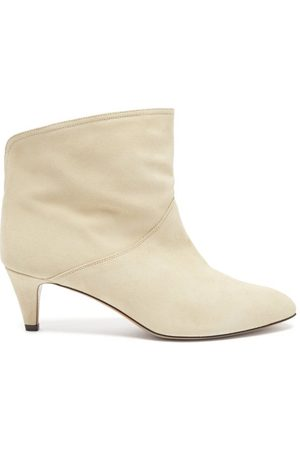 Isabel Marant Women Ankle Boots - Defya Suede Ankle Boots - Womens - Light